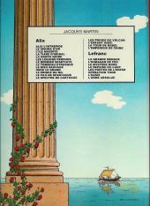 Verso de Alix -2c1983- Le sphinx d'or