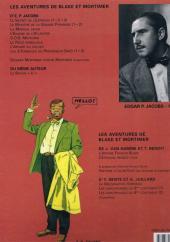 Verso de Blake et Mortimer (Les Aventures de) -10c2004- L'affaire du collier