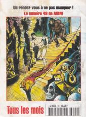 Verso de Capt'ain Swing! (2e série - Mon Journal) -49- En quête du purgatoire