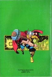Verso de Thor (3e Série - Lug/Semic) -29- Thor 29