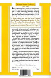 Verso de (AUT) Hergé -191- Georges Remi dit Hergé - Qui suis-je ?