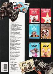 Verso de Spirou et Fantasio -19a1997- Panade à Champignac