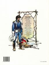 Verso de Blueberry (La Jeunesse de) -3b1992- Cavalier bleu