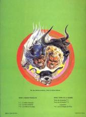 Verso de La terre de la bombe -2a1982- Des mutants dans l'étang