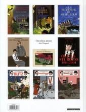 Verso de Blitz (Rivière/Floc'h) -INT- La Trilogie du Blitz