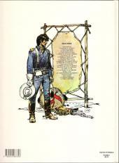 Verso de Blueberry -20a1982- La Tribu fantôme
