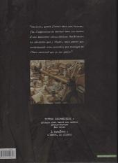Verso de Blacksad -1c- Quelque part entre les ombres