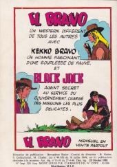 Verso de Akim (1re série) -517- Les masques noirs