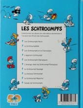 Verso de Les schtroumpfs (Édition 50 ans - minis) -9Mini- Le schtroumpf reporter