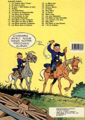 Verso de Les tuniques Bleues -1d87- Un chariot dans l'ouest