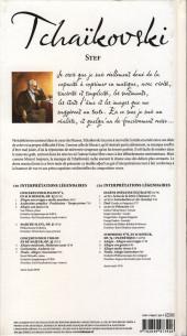 Verso de BD Classique -10- Tchaïkovski