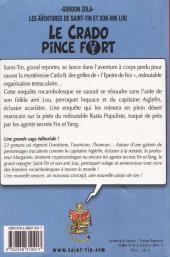 Verso de Les aventures de Saint-Tin et son ami Lou -1- Le crado pince fort