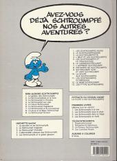 Verso de Les schtroumpfs -10b1990- La soupe aux schtroumpfs