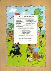 Verso de Tintin (Historique) -18B23bis- L'affaire Tournesol