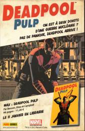 Verso de Marvel Stars Hors Série -2- Goulag