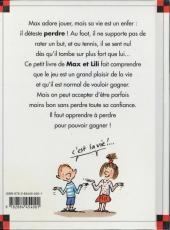 Verso de Ainsi va la vie (Bloch) -39- Max n'aime pas perdre