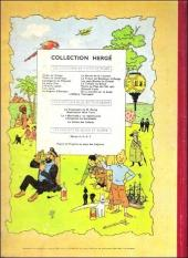 Verso de Tintin (Historique) -18B21- L'affaire Tournesol