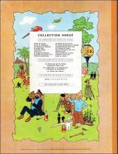 Verso de Tintin (Historique) -13B24- Les 7 boules de cristal