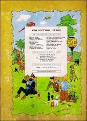 Verso de Tintin (Historique) -14B29- Le temple du soleil