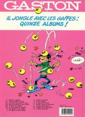 Verso de Gaston -10a1991- Le géant de la gaffe