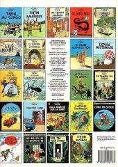 Verso de Tintin (Historique) -18C8- L'affaire Tournesol
