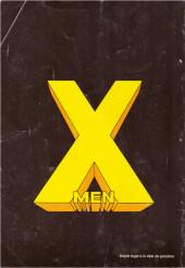 Verso de X-Men/X-Men Saga (Semic) -5- X-Men 5