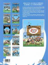 Verso de Les rugbymen -10- Les gars, ensemble on est un groupe électrogène !