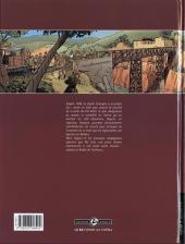 Verso de La rafale -1- Les rails rouges
