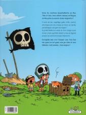 Verso de Jeu de gamins -1- Les pirates