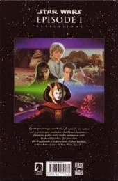 Verso de Star Wars Épisode 1 -1- Révélations