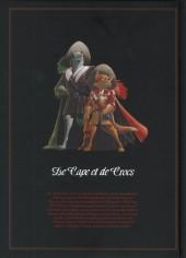 Verso de De Cape et de Crocs -INT3- Intégrale - Actes V - VI