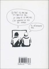 Verso de Bastien Vivès -1- Le Jeu vidéo