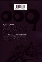 Verso de Cyborg 009 -10- Tome 10