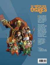 Verso de Le maître des Ogres -3- L'antre des pouvoirs