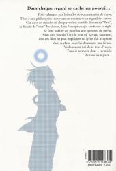 Verso de Iris Zero -1- Tome 1