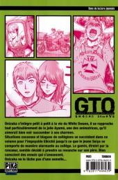 Verso de GTO - Shonan 14 days -3- Tome 3