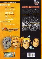 Verso de Les apatrides (Dante Comics) -1- Au premier chant des étoiles