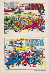 Verso de Marvel Universe (LUG) -1- Abomination - Champions of Xandar