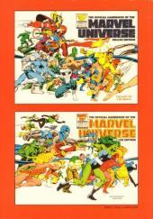 Verso de Marvel Universe (LUG) -6- Volume 6 : De