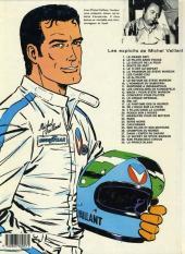 Verso de Michel Vaillant -14d1984- Mach 1 pour Steve Warson