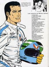 Verso de Michel Vaillant -5c1978- Le 13 est au départ