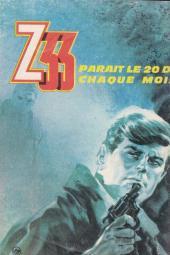 Verso de Z33 agent secret -87- Opération anniversaire heureux