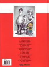 Verso de Cédric -1b2004- Premières classes