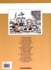 Verso de Cédric -4c04- Papa a de la classe