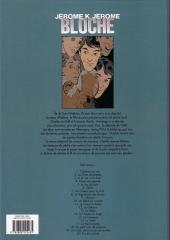 Verso de Jérôme K. Jérôme Bloche -4d2009- Passé recomposé