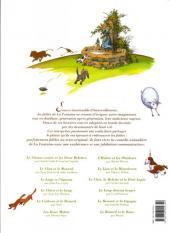 Verso de La fontaine aux fables -1b- La Fontaine aux fables