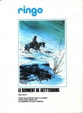 Verso de Ringo (Vance) -2a1980- Le serment de Gettysburg
