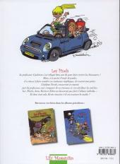 Verso de Les pixels -3- Les Pixels et les mini dinosaures