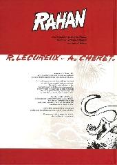 Verso de Rahan (Intégrale - Soleil) (N&B) -1a- Tome 1