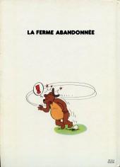 Verso de Sylvain et Sylvette -1FL- La ferme abandonnée